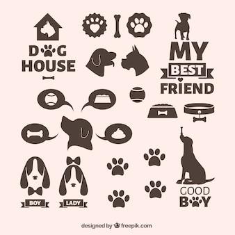 Icônes de chiens
