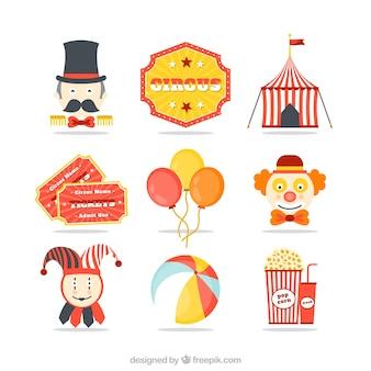 Icônes de cirque