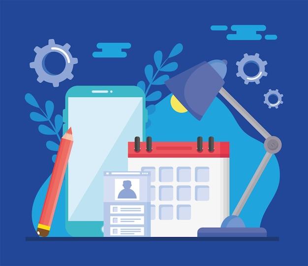 Icônes de conception de sites web