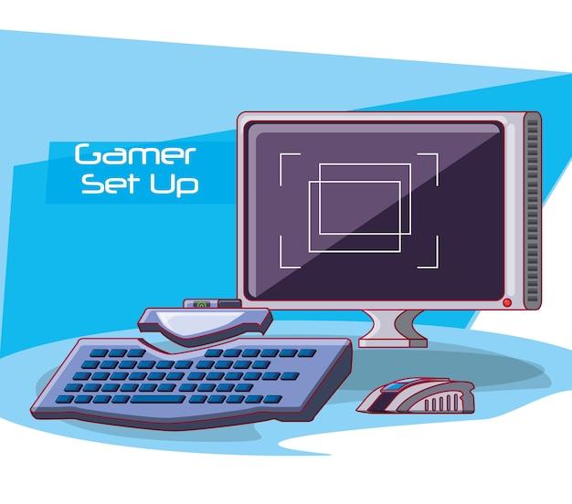 Icônes de console de jeu vidéo