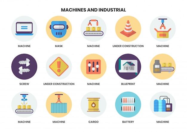Icônes de construction définies pour les entreprises