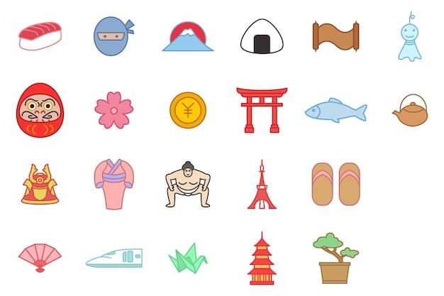 Icônes de culture du japon