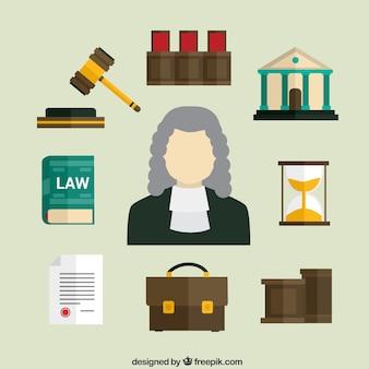 Icônes de droit
