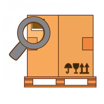 Icônes de fret liées à la manutention ou à la manutention