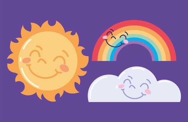 Les icônes définissent la météo