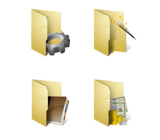 Icônes de dossier