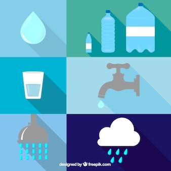 Icônes de l'eau