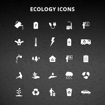 Icônes d'écologie