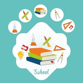 Icônes de l'éducation et de l'école