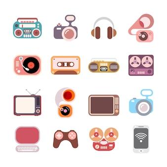 Icônes électroniques