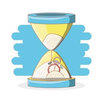 Icônes d'éléments de temps de travail