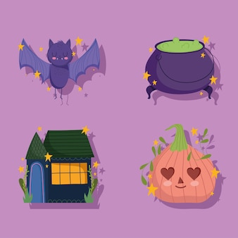 Icônes d'événement halloween