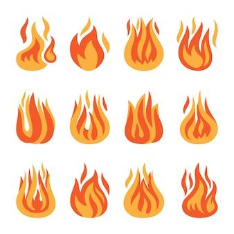 Icônes de feu