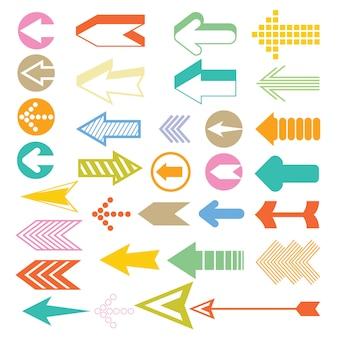 Icônes de flèche et de curseur