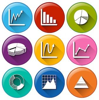 Icônes de graphique