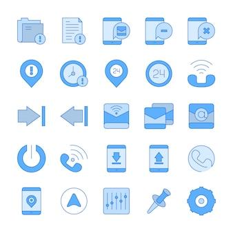 Icônes d'interface web