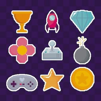 Icônes de jeu vidéo classique