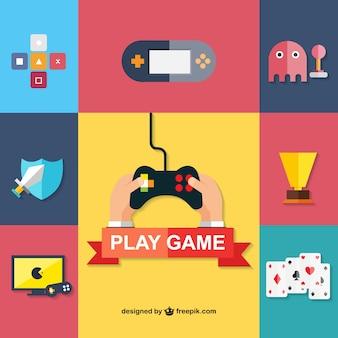 Icônes jeux