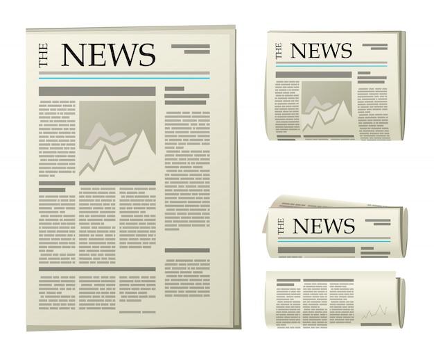 Icônes de journaux