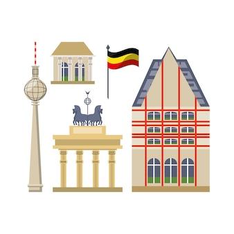 Icônes liées à l'architecture allemande
