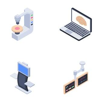 Icônes des machines de diagnostic