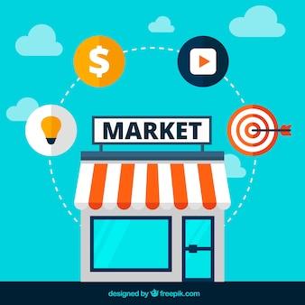 Icônes de marché