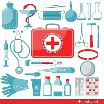 Icônes médicales set