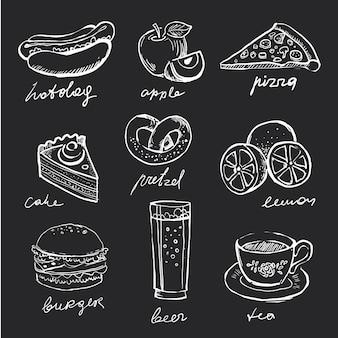 Icônes de menu