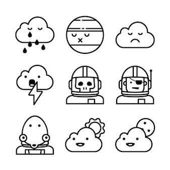 Icônes météo.