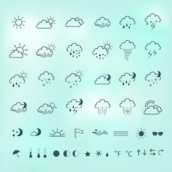 Icônes météorologiques