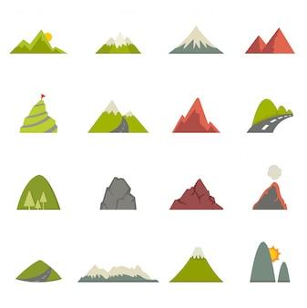 Icônes de la montagne