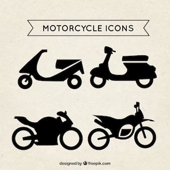 Icônes de moto