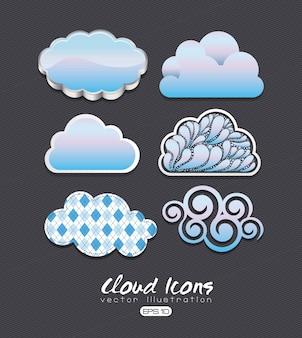 Icônes nuage
