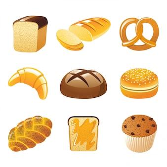 Icônes de pain