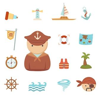 Icônes de pirates