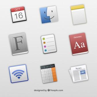 Icônes pour les applications de mac