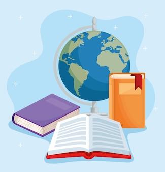 Icônes pour la journée de l'alphabétisation