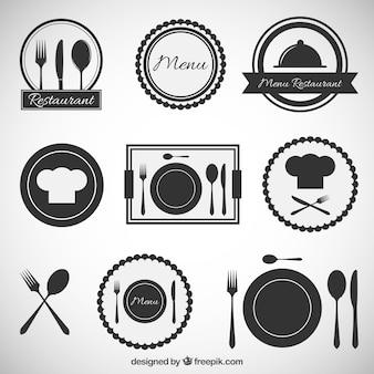 Icônes restaurants