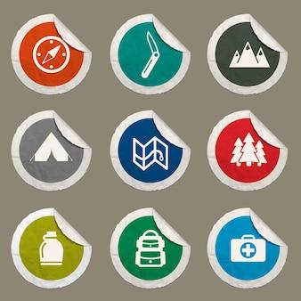 Icônes de scout pour les sites web et l'interface utilisateur
