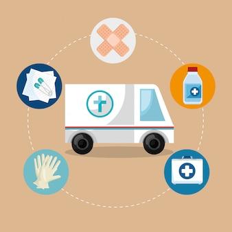 Icônes de service médical