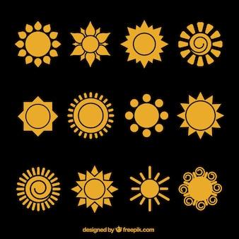 Icônes sun
