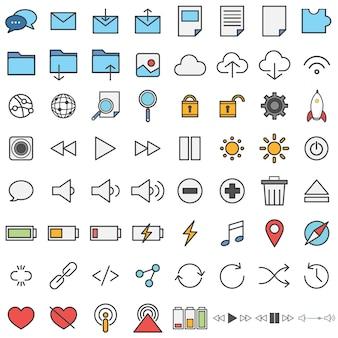 Icônes de la technologie