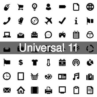 Icônes universelles pack 11