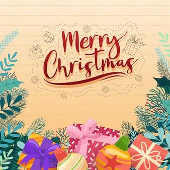 Icônes vectorielles de noël illustration de décoration de nouvel an des chrétiens de noël