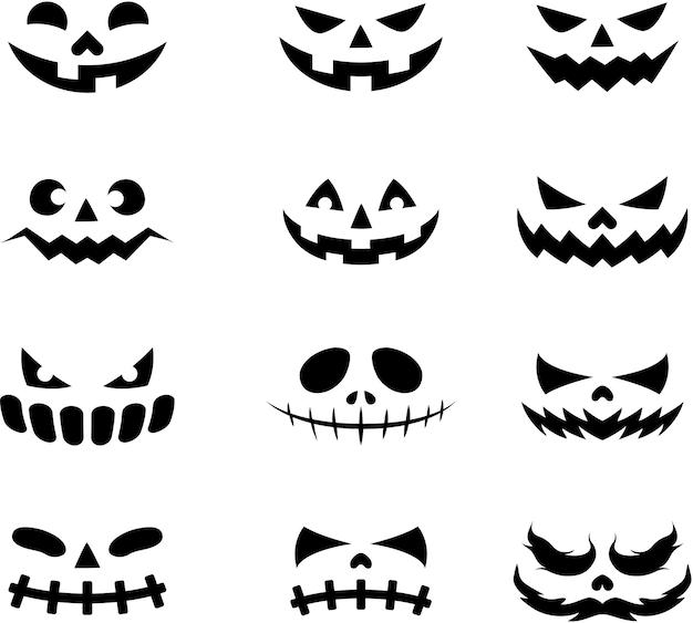 Icônes de visage de diable