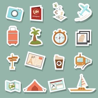 Icônes de voyage