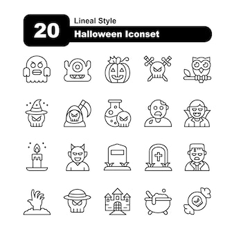 Iconsets d'halloween