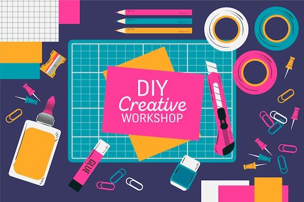 Idée d'atelier créatif bricolage