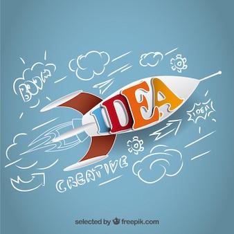 Idée fusée