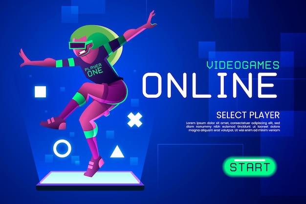 Idée de jeu vidéo en ligne